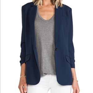 Elizabeth and James Relaxed Jaime Blazer-Sz 10